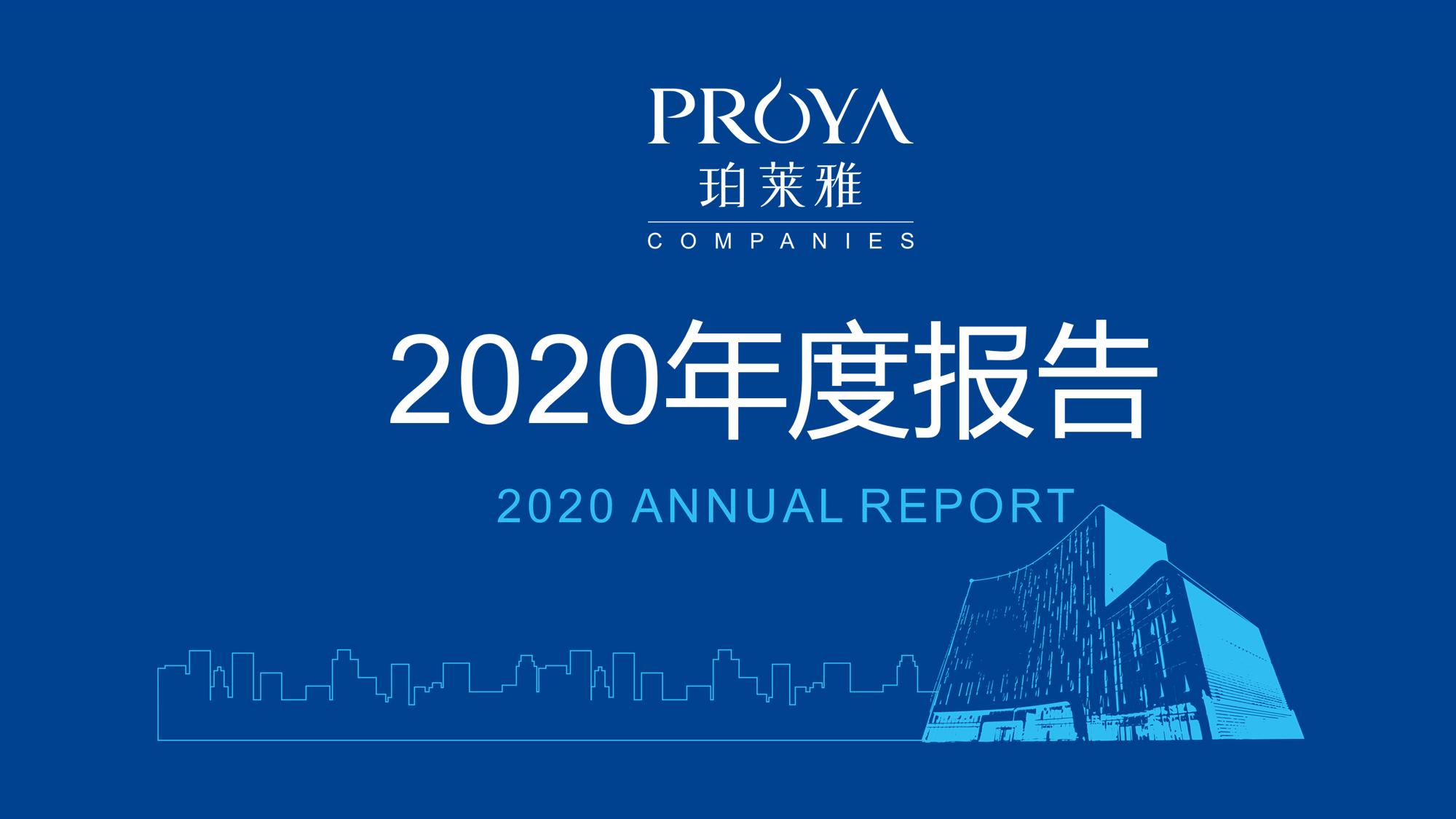 一图速览珀莱雅2020年度报告